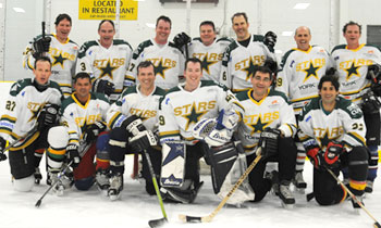 Shoot For A Cure Hockey is a hockey-focused campaign of the American and Canadian Spinal Research Organizations.