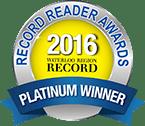 Record Reader Awards 2014 - Platinum