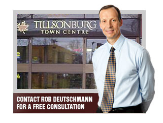Tillsonburg Personal Injury and Disability Claims Lawyer