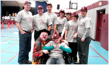 Brantford Wheelchair Relay sponsored by Canadian Paraplegic Association