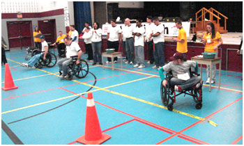 Brantford Wheelchair Relay sponsored by Canadian Paraplegic Association